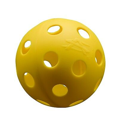 Athletic Specialties Perforated Baseballs Bag of 6 Yellow. Shipping is Free