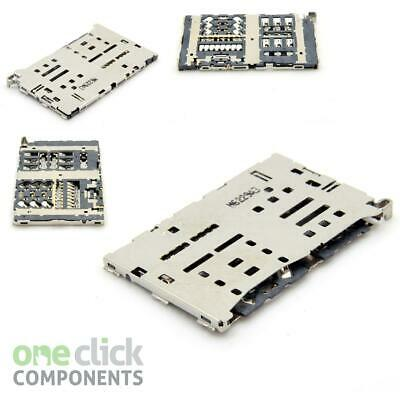 Replacement Nano Sim & Micro SD Card Reader Tray Socket Connector for LG G6 H870