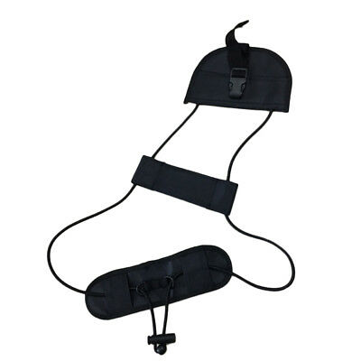 Travel Luggage Bag Suitcase Belt Backpack Carrier Strap Easy to Carry Black  *1
