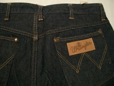 Vintage Wrangler Blue Bell Jeans Mens 34X34 Sanforized 1950s Talon Zipper #1794