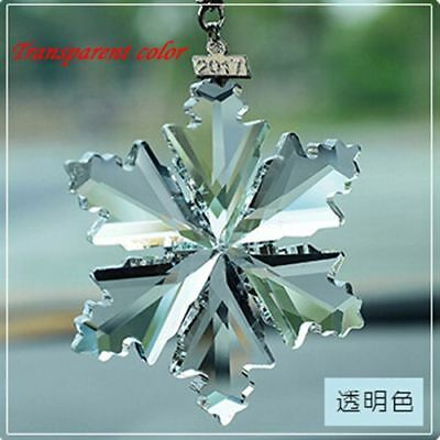 2017 Annual Edition Snowflakes Falling Large Christmas Ornament Crystal