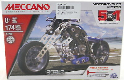 Meccano 5in1 Motorcycles Model