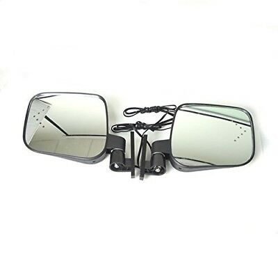 World 9.99 MallGas & Electric Golf Carts Side Rear View signal Mirror Set With