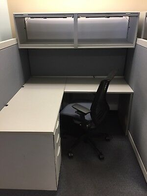 5by5 Steelcase Cubicle
