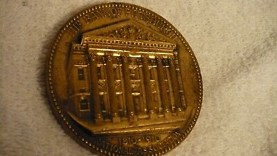 Vintage Bank Of Pittsburgh Coin 1 Hundred Anniversary