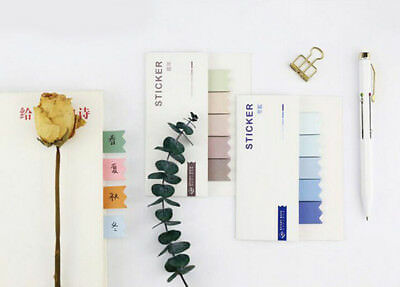 100 Pages Sticker Memo Index Bookmark Point Marker Notepad Paper Sticky Notes
