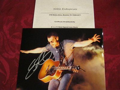 Eric Church - Awesome Country Singer - Hand Signed Photo With Coa