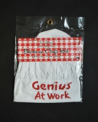 2018 Genius At Work Chef's hat cook party  free USA shipping