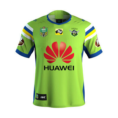 Canberra Raiders 2018 Home Jersey Mens S - 4XL, Womens & Kids Sizes NRL ISC SALE