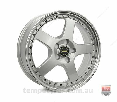 FORD  FALCON PRE AU WHEELS PACKAGE: 18x7.0 18x8.5 Simmons FR-1 Silver and Kumho