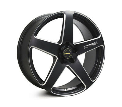 HOLDEN COMMODORE VE TO VF WHEELS PACKAGE: 20x8.5 20x10 Simmons FR-CS Satin Black