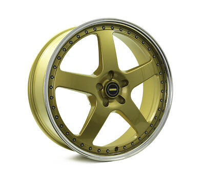 HOLDEN COMMODORE VE TO VF WHEELS PACKAGE: 22x8.5 22x9.5 Simmons FR-1 Gold and At