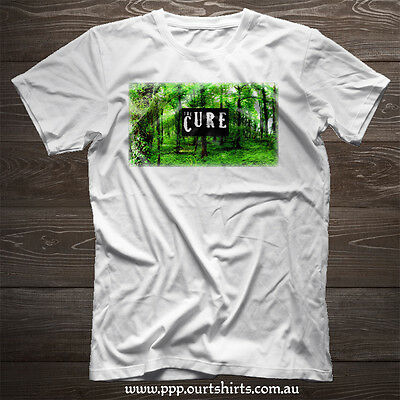 THE CURE Robert Smith A Forest 100% cotton  T Shirt