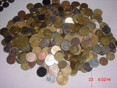 Free Shipping 10 POUND LOT Game Room Arcade Car Wash  Coin Tokens