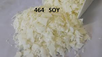 5lbs 464 SOY WAX FLAKES GREAT FOR CANDLES OR TARTS **FREE SHIPPING**