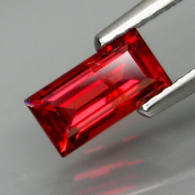 0.91Ct.Very Good Color! Natural Red Spinel MaeSai,Thailand Good Shape