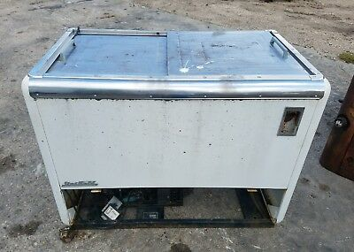 Vintage Quikold Pepsi Cola Coke 7 UP Ice Chest Cooler Serial 11288 Model 1400wd