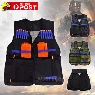 Children Tactical Nerf Guns vest suit tactical pocket For N-Strike Elite Series