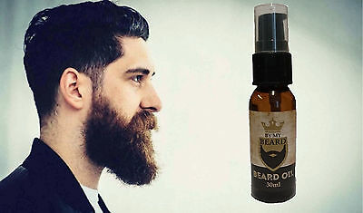 By My Beard Oil Men's Moustache Grooming Non Greasy Facial Hair Treatment 30ml