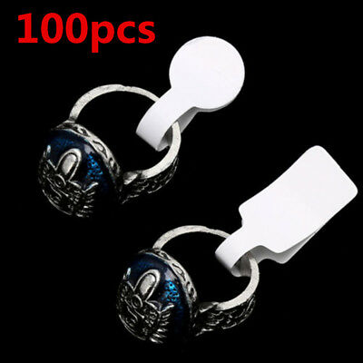 Blank Price Tags paper 100pcs/bag Necklace Ring Jewelry Labels Paper Stickers C