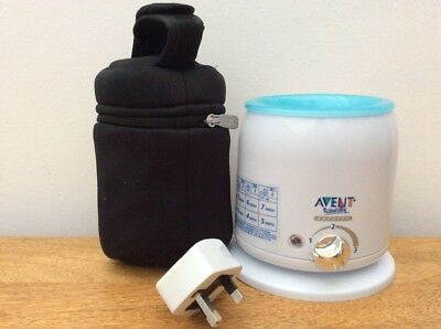Avent Baby Bottle And Food Warmer With Tommee Tippee Thermal Travel Bag