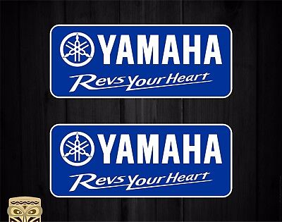 Pegatina Decal Sticker Autocollant Aufkleber Adesivi Yamaha Revs Your Heart