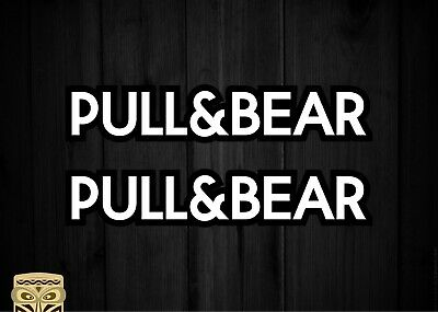 Pegatina Decal Sticker Autocollant Aufkleber Adesivi Pull & Bear Pull And Bear