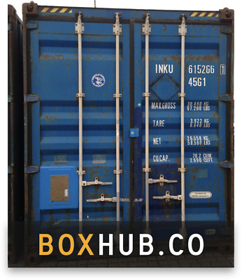 20ft used shipping container in cargo-worthy condition
