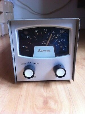 Vintage Sansui FM-8 HiFi vacuum tube Tuner in Very nice and original condition