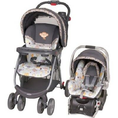 Baby Travel System Stroller Car Seat Combo Infant Toddler Envy Bobbleheads New