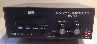 MFJ-464 Morse-Keyer & Decoder