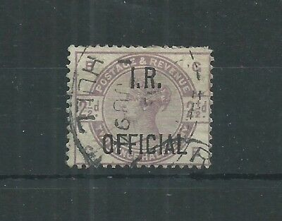 GREAT BRITAIN 1885 21/2d OFFICIAL SG O6 USED CV£110+