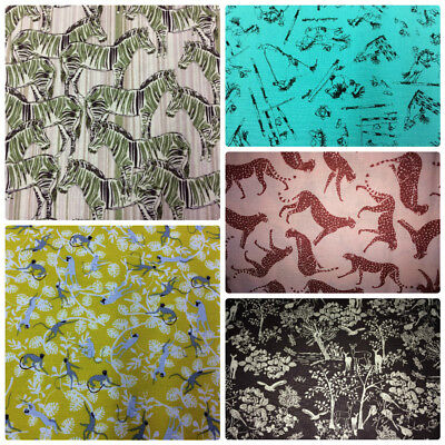 Jane Makower Cotton Dress Fabric The Wildlife & Out Of Africa Collections