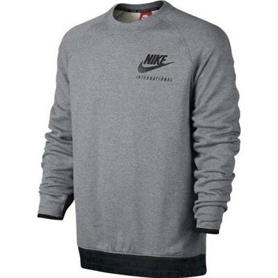 Nike International Crew Apparel Sweater Grey