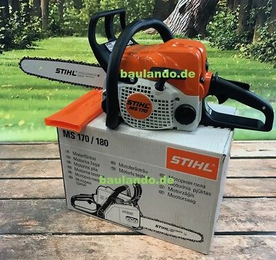 STIHL CHAINSAW MS 170, 35cm Petrol Chainsaw MS170