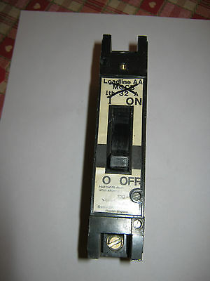 Dorman Smith  Loadline Type Aa 32A 32 Amp Ajustable Mccb Circuit Breaker