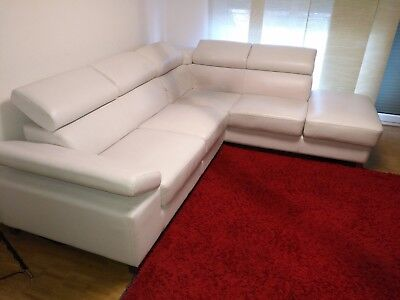 Weisse Couch/Sofa