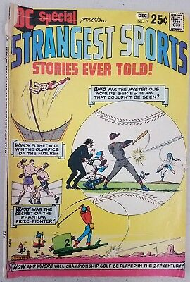 Dc Special #9  The Strangest Sports Stories Ever Told