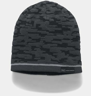 Under Armour  Mens Rev Graphic Beanie