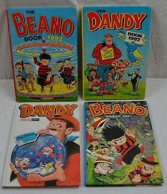 Job Lot Comic Book Annuals Dandy Beano Dennis Menace Vintage History Classics