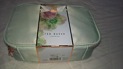 Ladies Her Ted Baker Mint Beauty Bag Gift Body Wash Spray Lotion Christmas Xmas