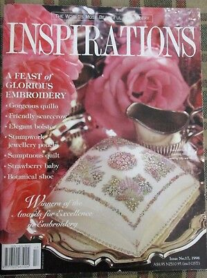 INSPIRATIONS Worlds beautiful embroidery issue no. 17/ 1998
