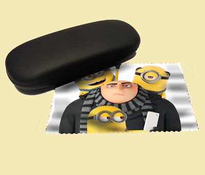 Despicable me 3 lens cloth screen wipe laptop pc glasses soft minions gru
