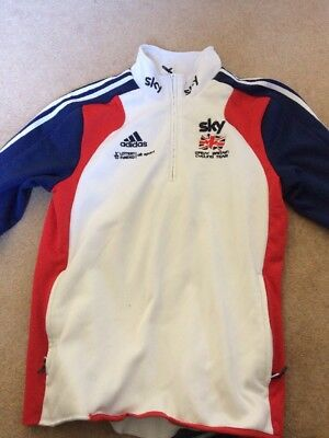 Team GB Great Britain Cycling Presentation Jacket TEAM ISSUE Adidas M 38/40