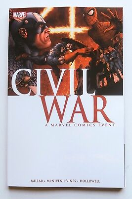 Civil War A Marvel Comics Event NEW Marvel Graphic Novel Comic Book
