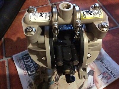 ARO diaphragm pump air driven used but in good working order