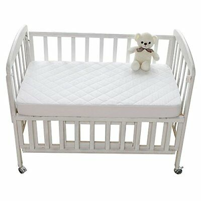 Waterproof Baby Crib Mattress Protector Fitted Cover for Pack N Play Mini & 27""