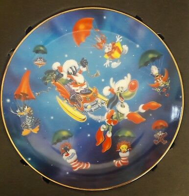 WARNER BROS.-Looney Tunes-COLLECTORS PLATE - JOLLY OL' ST.MARVIN