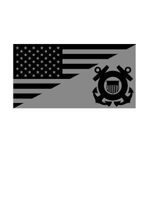 Air Force Flag Sticker Decal Tactical USA Flag