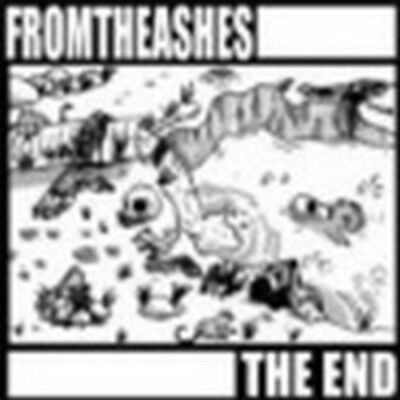 "FROMTHEASHES The End 7"" afgrund nasum rotten sound napalm death agathocles blood"